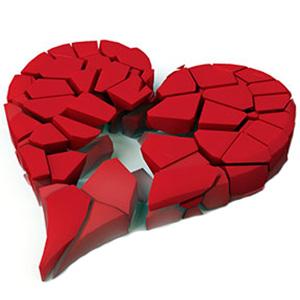 broken heart wp
